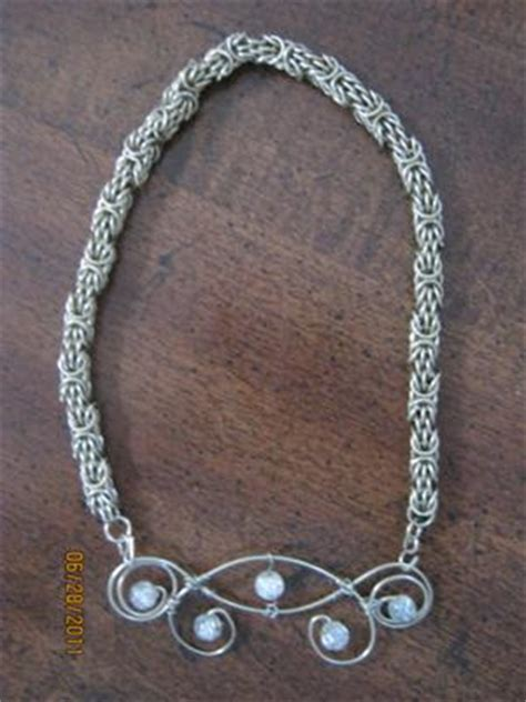 how to make chainmail jewelry chainmaille jewelry wire flourish and trizantine chain