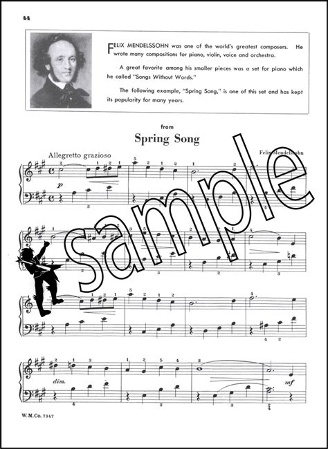 Thompson S Easiest Piano Course Part 7 thompson s easiest piano course part 5 hamcor