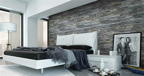 schlafzimmer wand ideen wall panels imitates represent a chic way to wall