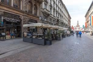 Exposed Brick wine bar in milan via dante wine shop signorvino