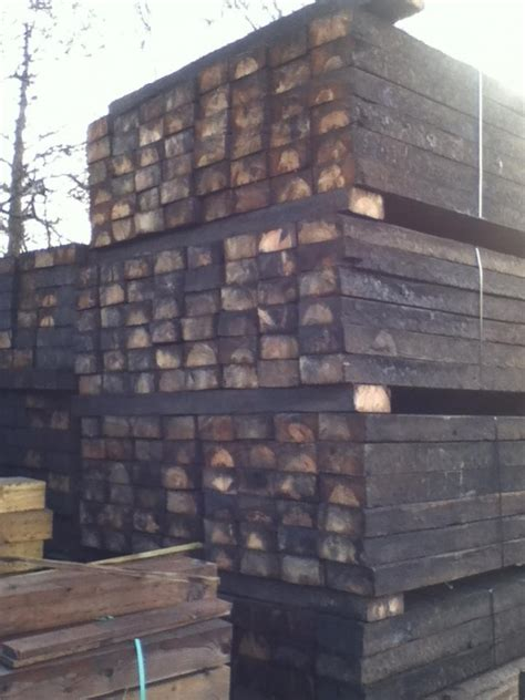 Second Railway Sleepers by 5 X10 X 7ft To 7ft1 X Class One Second