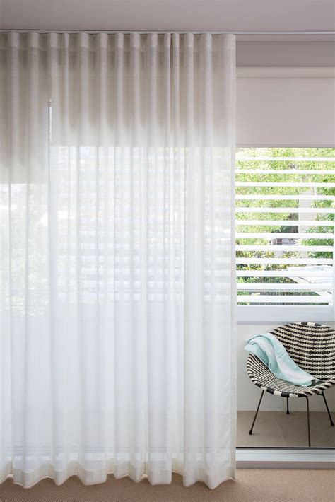 sheer curtains with roller blinds stunning sheer white linen curtains overlaying sleek