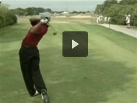 tiger woods golf swing in slow motion pin by powerchalk compare your technique to pros on pga