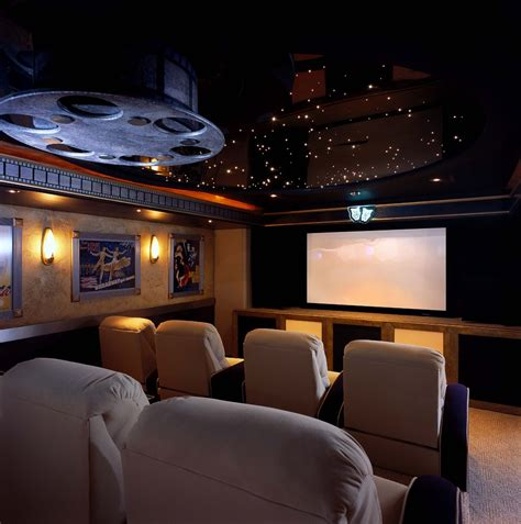 marvelous theater accessories decorating ideas