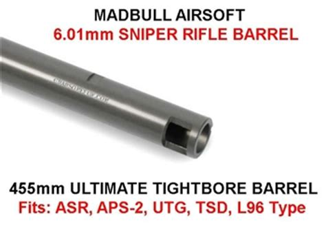 Madbull Ultimate 601 509mm madbull ultimate tightbore 6 01mm airsoft sniper rifle inner barrel