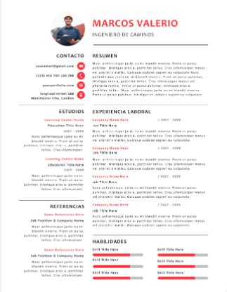 Plantilla De Curriculum Tradicional plantillas para curriculum gratis en formato word