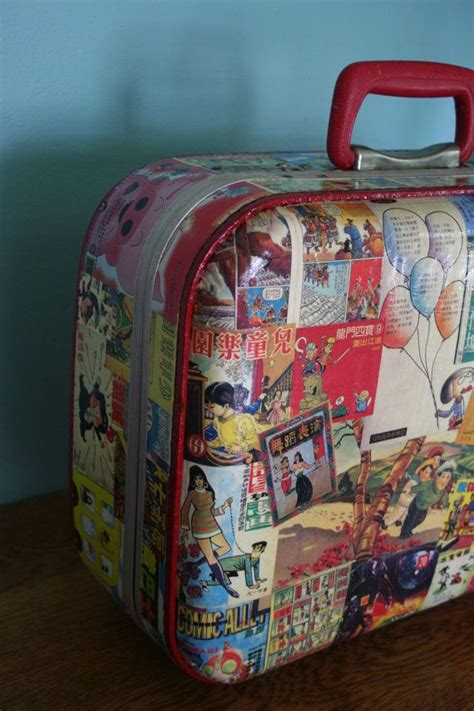 How To Decoupage A Suitcase - 17 best images about suitcase decoupage neat on