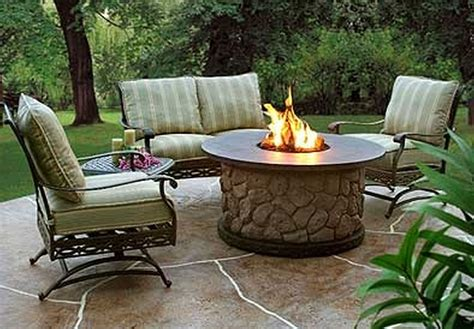 backyard table 10 diy outdoor pit bowl ideas you to try at all