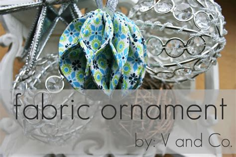 Handmade Fabric Ornaments - 40 diy ornaments to decorate the tree