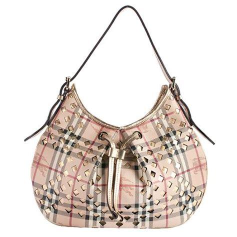 Burberry Cutout Drawstring Shopper by Burberry Haymarket Check Cutout Drawstring Hobo Handbag