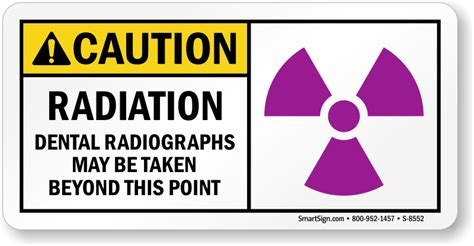 printable x ray radiation sign caution dental radiographs taken beyond this point sign