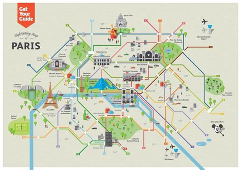 map of attractions in metro map tourist attractions map of