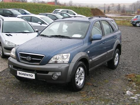 Kia Sorento 2 5 Kia Sorento 2 5 Crdi Ex Photos And Comments Www Picautos