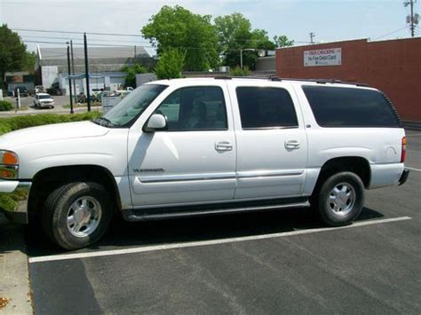how to learn about cars 2002 gmc yukon xl 2500 navigation system sell used 2002 gmc yukon slt in rocky face georgia united states
