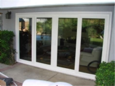 awesome four panel sliding patio doors patio doors in