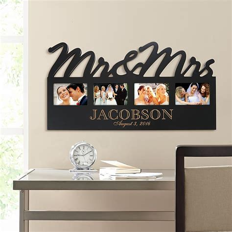 Wedding Gift Photo Frame by Personalized Wedding Picture Frames At Personal Creations