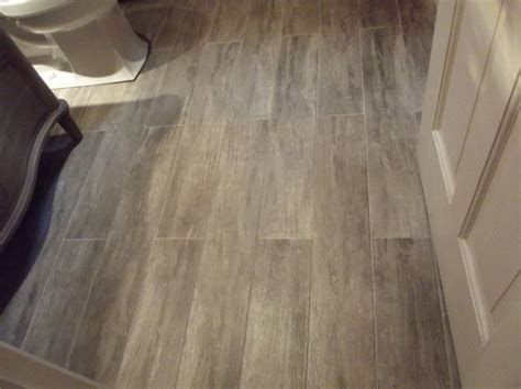 wood look porcelain tile bathroom contemporary with grey porcelain tile that downstairs
