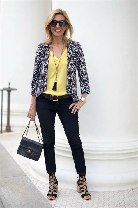 well dress with jacket good hairstyle for a long face 6 ways to wear pastels for women over 50 a style guide