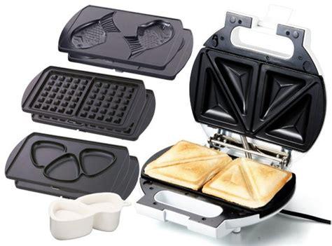 Sandwich Toaster And Waffle Maker japan trend shop mighty sando plus one taiyaki sandwich toaster