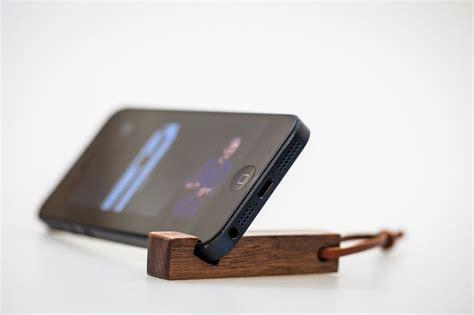 wooden key ring mobile phone holder shop thirteen