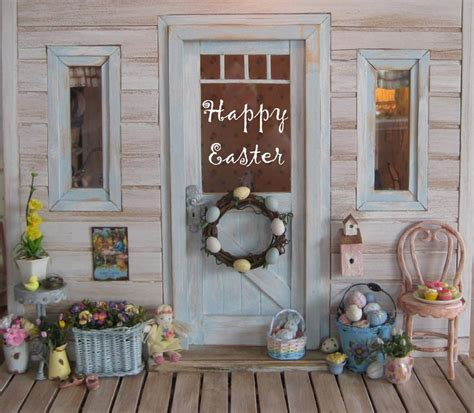 easter decorations to make for the home outdoor easter decorations will turn your easter into real