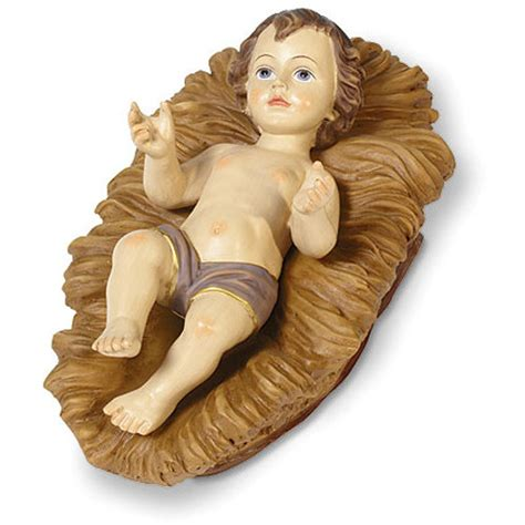 Baby Jesus In Crib Baby Jesus Crib Large Baby Jesus Crib Figure Gifts Gifts By Polart 644527027708 At 301 Moved