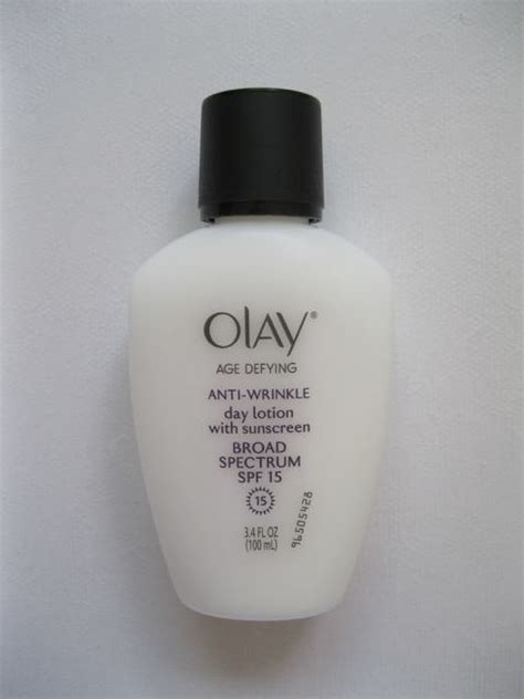 Olay Age Defying Anti Wrinkle olay age defying anti wrinkle day lotion with sunscreen