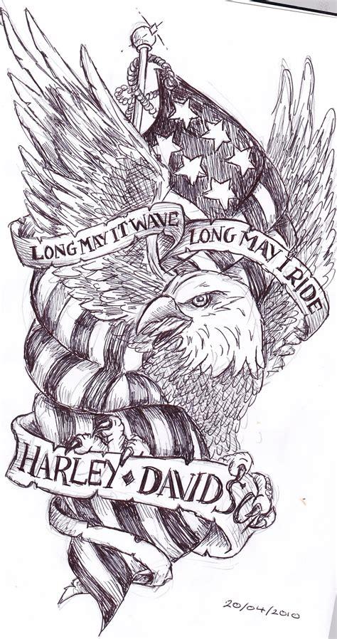 harley davidson eagle tattoo designs harley davidson images designs