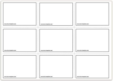 Free Printable Flash Cards Template Printable Cards Templates