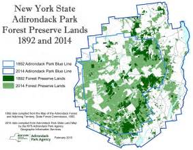 New York State Parks Map by Adirondack Park Agency Maps And Gis
