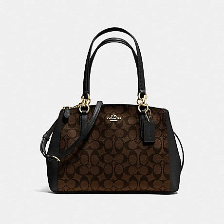 Coach Kelsey Small Patchwork 5 coach f36619 small christie carryall in signature