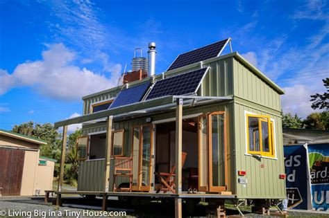 high spec professionally built tiny house living
