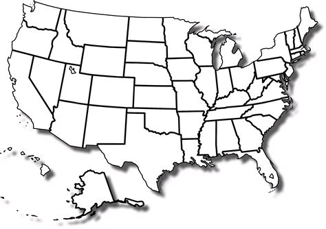 unlabeled usa map unlabeled map of usa blank us map states numbered usa map
