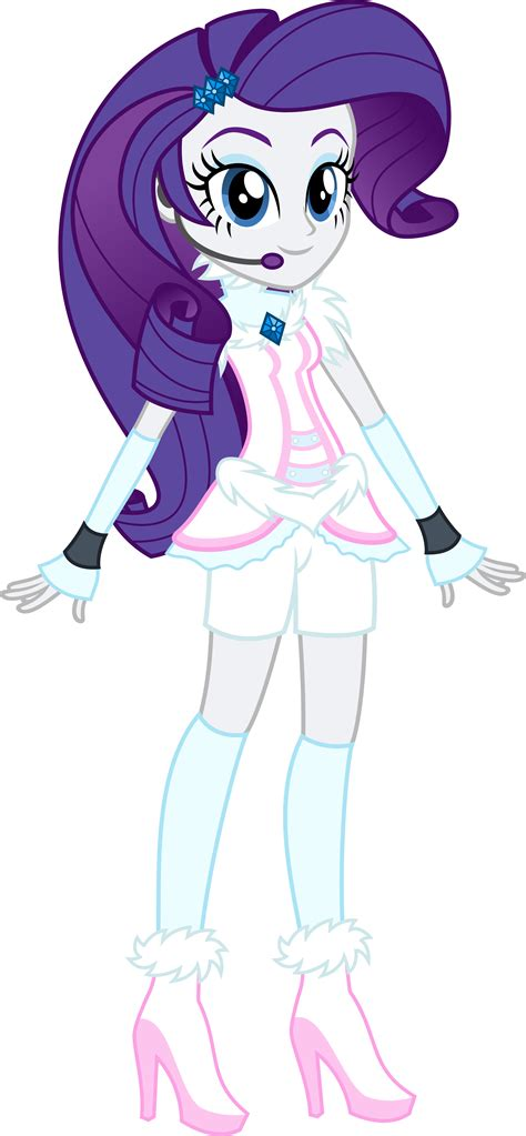my little pony as equestria girl rarity eqg rarity winter look com by osipush on deviantart