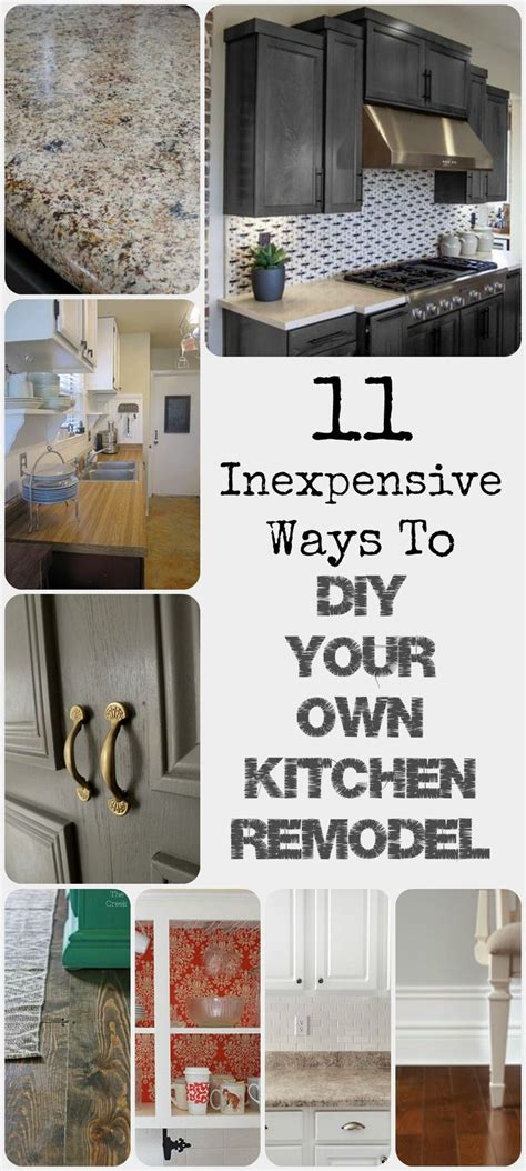 cheap ways to redo your bedroom 11 inexpensive ways to diy your own kitchen remodel