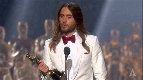 film oscar jared leto jared leto winning best supporting actor youtube