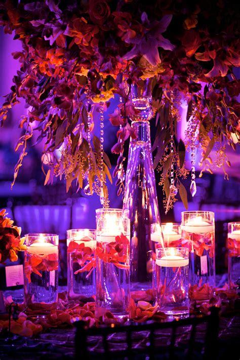 lighting arrangement tall spring wedding centerpieceswedwebtalks wedwebtalks