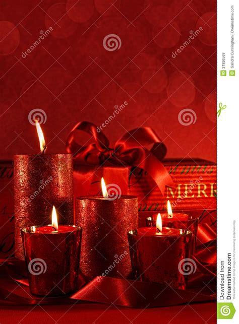 candele rosse candele rosse di natale immagini stock libere da diritti