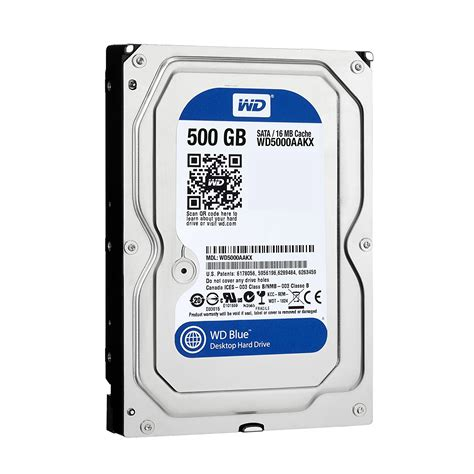Hardisk Wd Blue 500gb Western Digital 3 5 Wd5000aakx Cavi End 8 21 2017 4 15 Pm