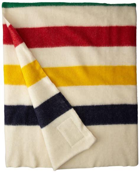 Hudson Bay Blanket by Hudson Bay 4 Point Blanket With Multi Stripes