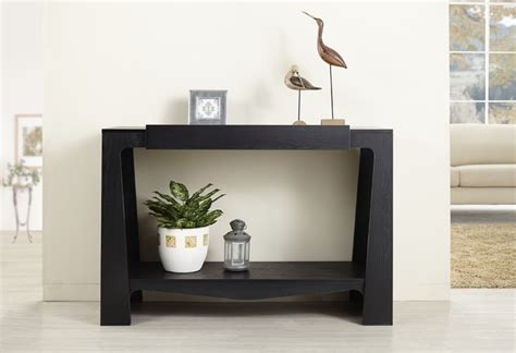 contemporary entrance table black modern hall entry way
