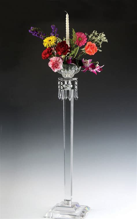crystal candelabra wedding centerpiece buy wedding