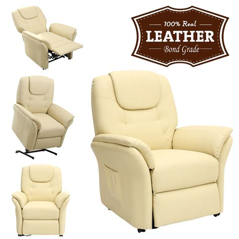 windsor recliner chair windsor cream electric rise recliner leather armchair sofa