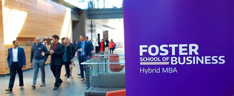 Southern Hybrid Mba Classes by Admissions Foster School Of Business