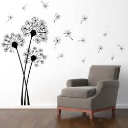Dandelion Wall Sticker Dandelion Wall Decal Extra Large Decal By Stephenedwardgraphic