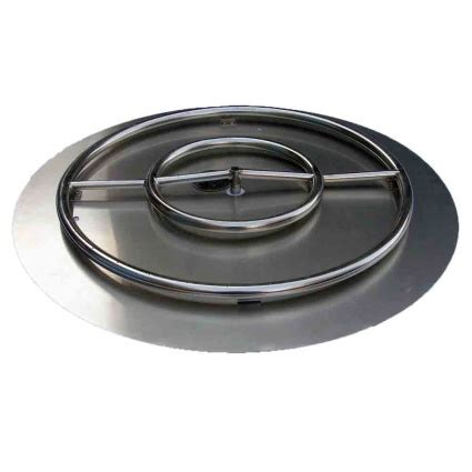 pit pans with burners high grade 36in ss pit ring burner kit with pan