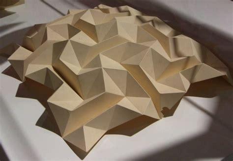 Structural Origami - resch created by origami and paper