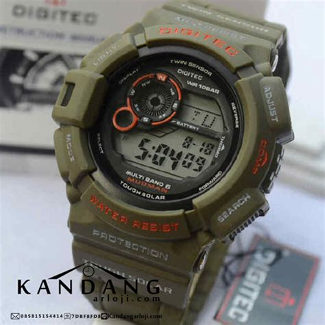 Digitec Dg 2028t Green Original jual digitec digital dg 2028t mudman hijau army original
