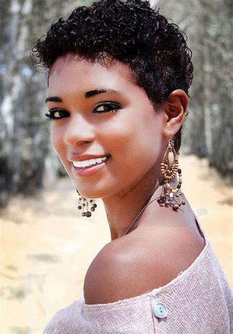 short haircuts for african american women 15 cool short natural hairstyles for women pretty designs