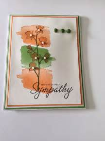 Stampin up sympathy card greeting cards sympathy pinterest